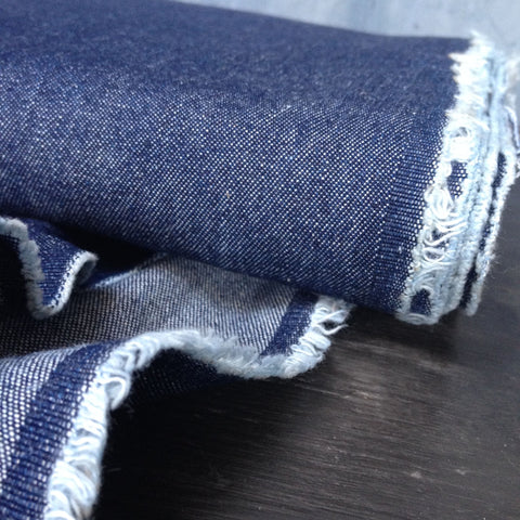Robert Kaufman Indigo Denim 8oz Washed Indigo