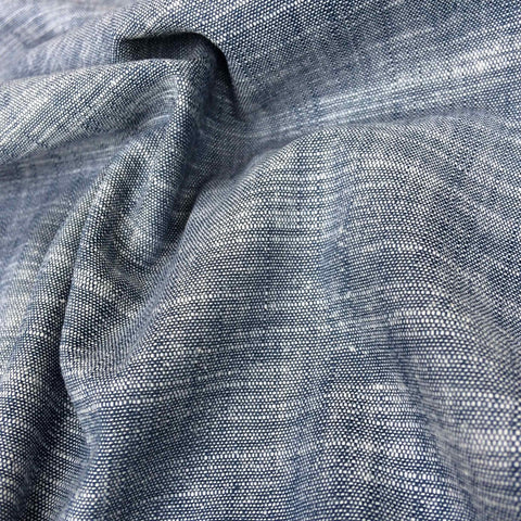 Robert Kaufman Chambray Union Stretch Indigo Denim