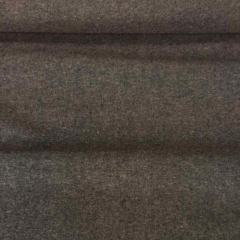 Robert Kaufman Yarn Dyed Essex Linen Sewing Fabric Espresso