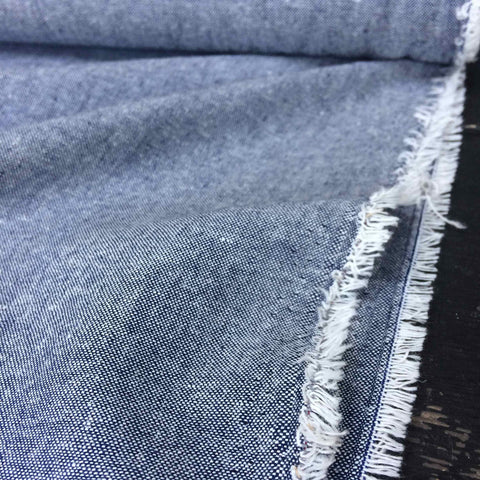 Robert Kaufman Yarn Dyed Essex Linen Denim
