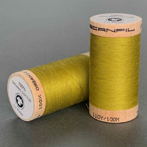 Scanfil Organic Cotton Sewing Thread Chartreuse
