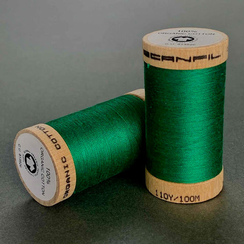 Scanfil Organic Cotton Sewing Thread Emerald Green