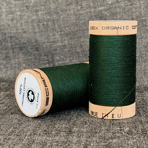 Scanfil Organic Cotton Sewing Thread Forest Green