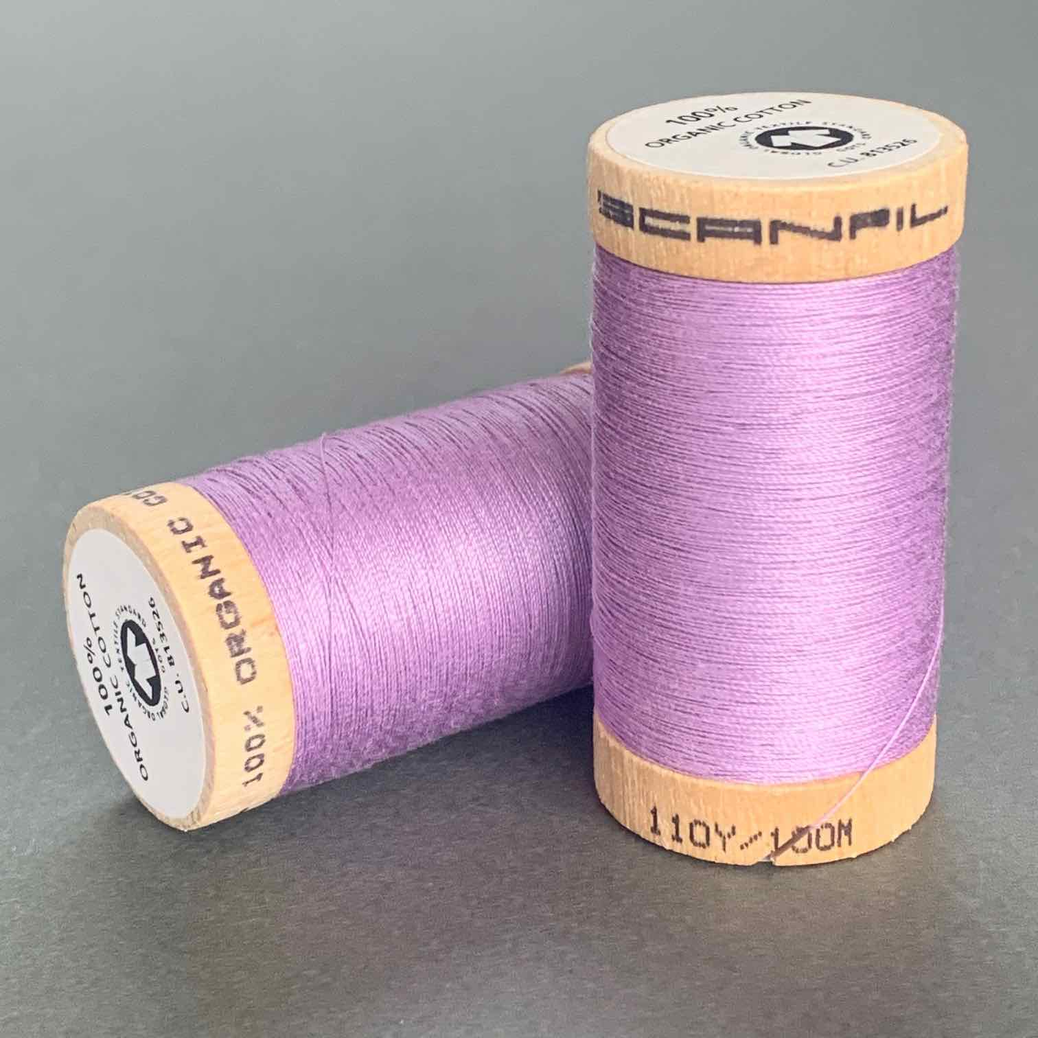 Scanfil Organic Cotton Sewing Thread Lilac