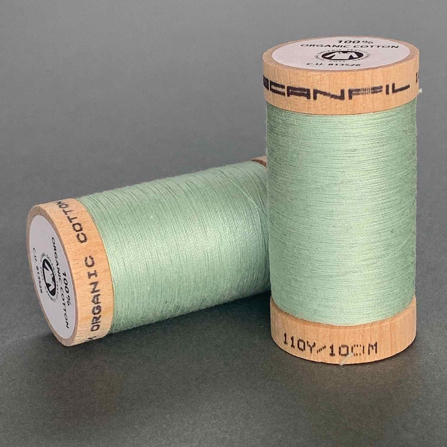 Scanfil Organic Cotton Sewing Thread Mint Green
