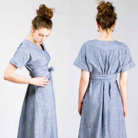 SEW HOUSE SEVEN • The Tea House Top & Dress Sewing Pattern