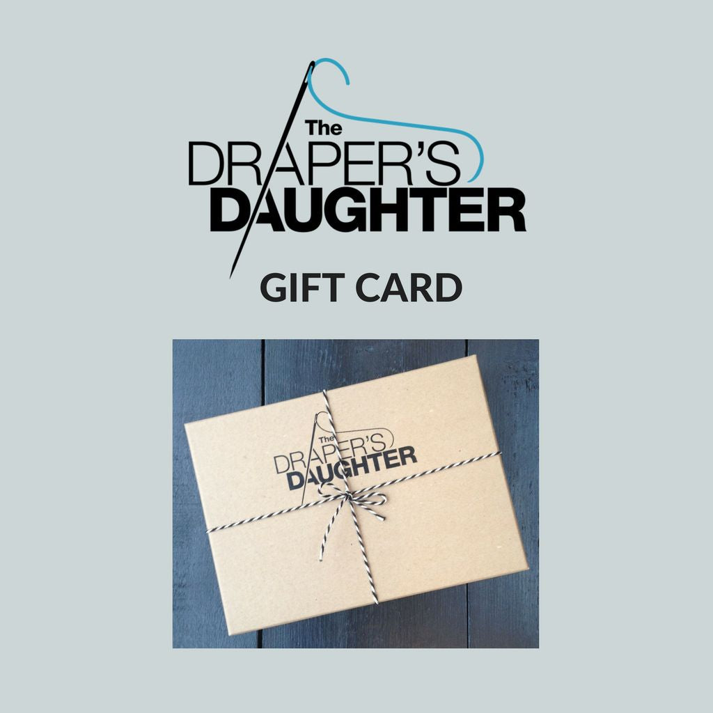 THE DRAPER'S  DAUGHTER • E-Gift Card