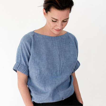 The Assembly Line Cuff Top Sewing Pattern