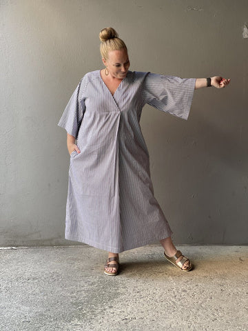 The Assembly Line Kaftan Dress Sewing Pattern