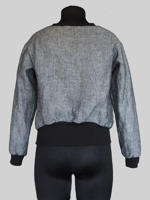 THE ASSEMBLY LINE • High Cuff Sweater Sewing Pattern – The Draper\'s ...