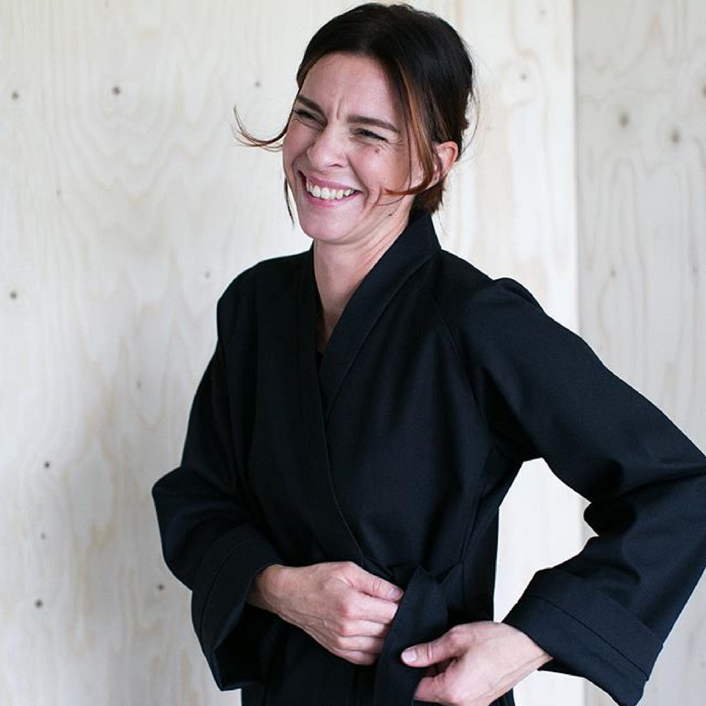 The Assembly Line Kimono Wrap Jacket Sewing Pattern