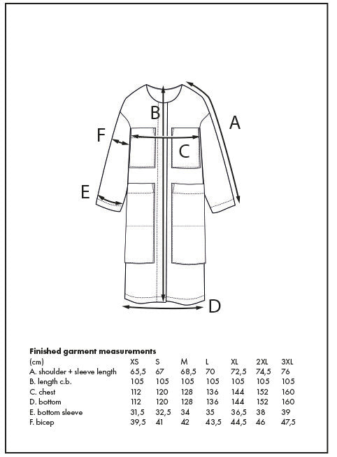 THE ASSEMBLY LINE • Lab Coat Sewing Pattern