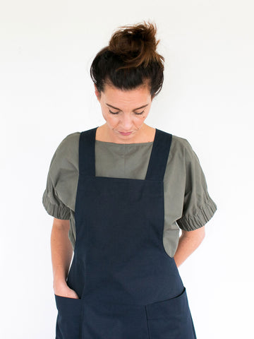 The Assembly Line Apron Dress Sewing Pattern