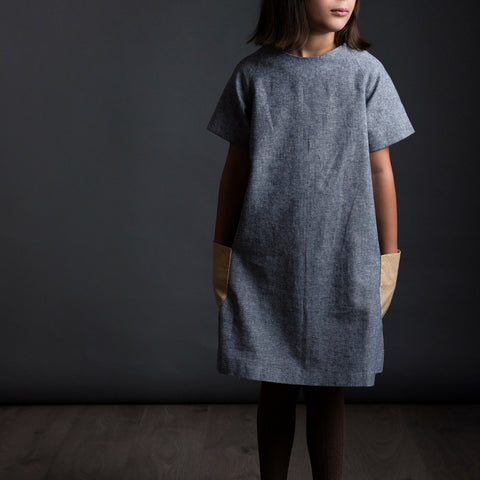 The Avid Seamstress The Raglan Dress Girl's Sewing Pattern
