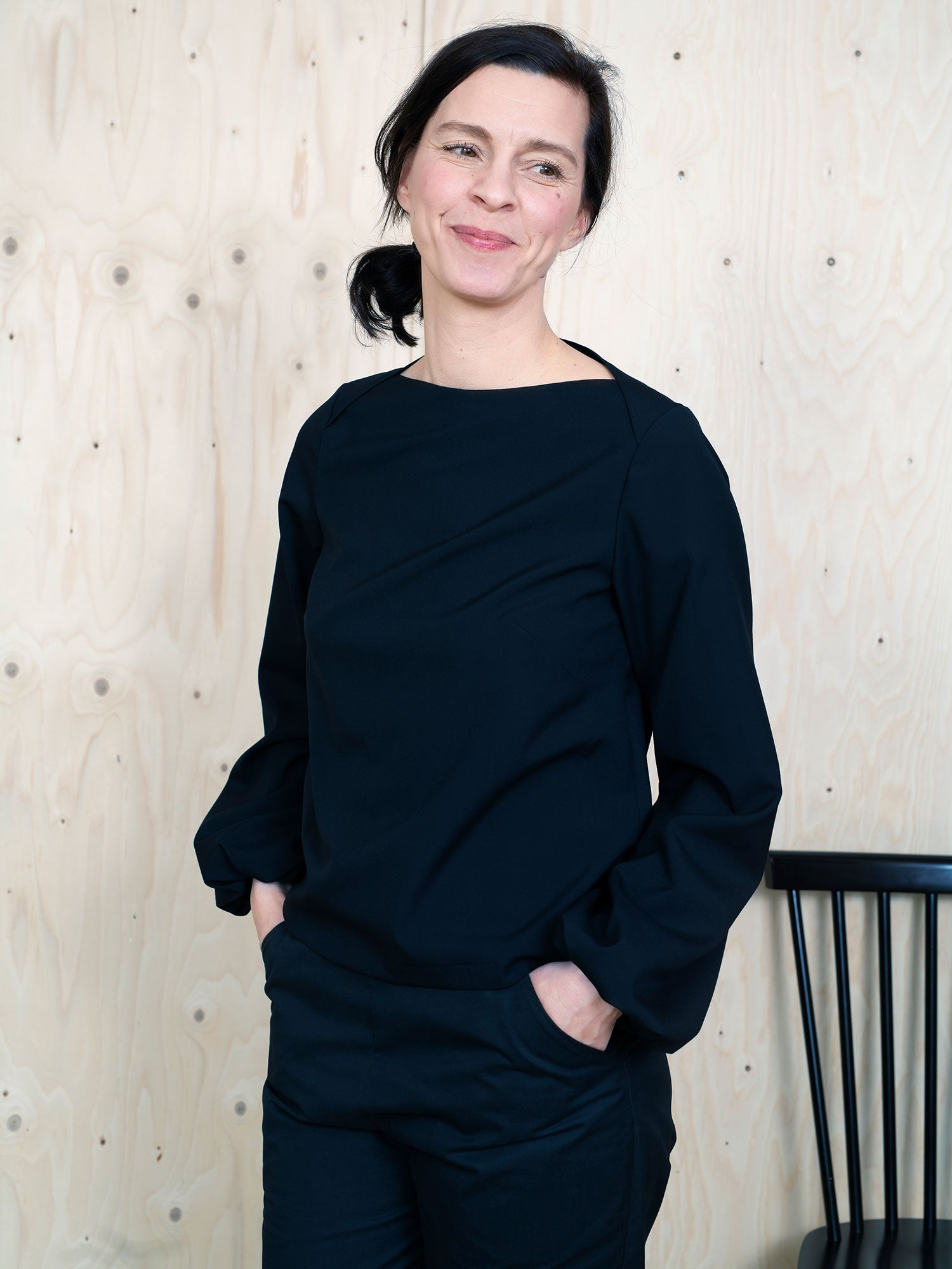Blouse Sewing Pattern Puff Shirt Sewing Pattern by The Assembly Line