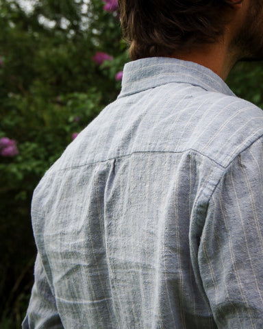 Thread Theory Men's Fairfield Button-Up Shirt Sewing Pattern