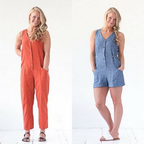 True Bias Patterns Yari Jumpsuit Sewing Pattern