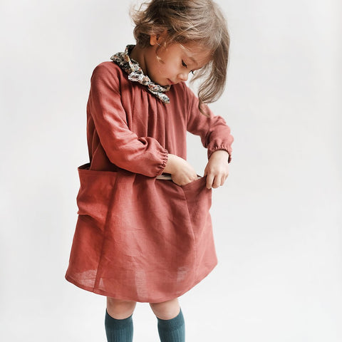 Wiksten Baby + Child Smock Top + Dress Sewing Pattern