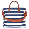 Original Tote Medium Nappy Bag - Navy/White