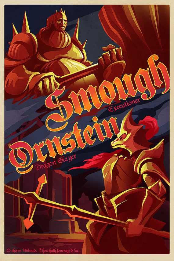 Dragon Slayer Ornstein and Executioner Smough
