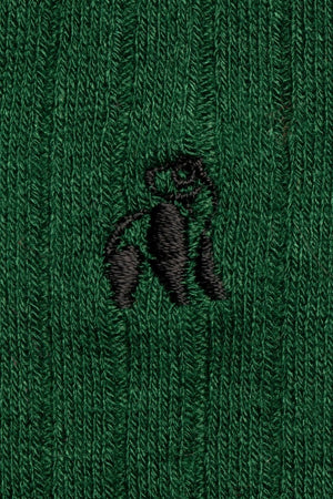 Racing Green Bamboo Socks - Swole Panda
