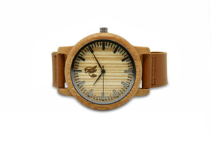 Swole Panda Watch Classic Bamboo Watch