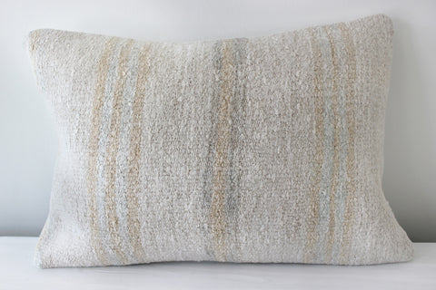 Hemp Pillow Vertical Stripe