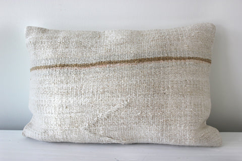 Hemp Pillow Horizontal Stripe