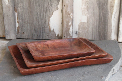 Siris Wood Trays