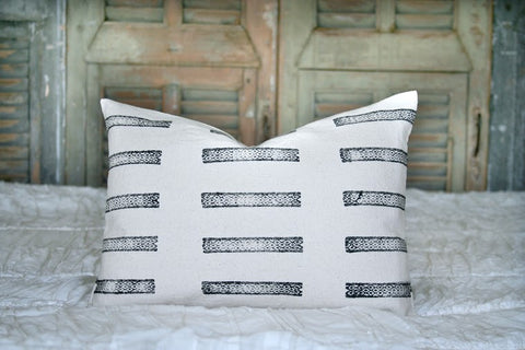 Black Lines Pillow