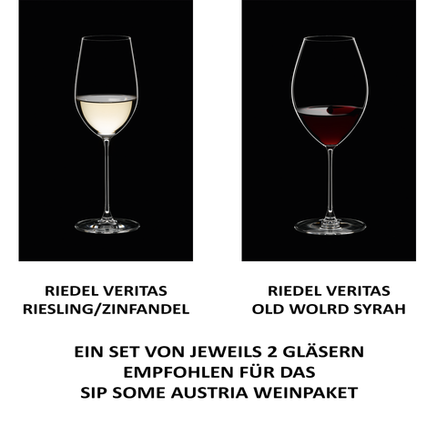 4 RIEDEL Glasses