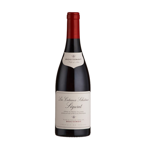 Boutinot 'Les Coteaux Schisteux', Seguret Cotes du Rhone Villages (6 Bottle Case)