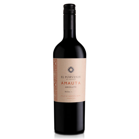 El Porvenir de Cafayate, Amauta Absoluto Malbec (6 Bottle Case)