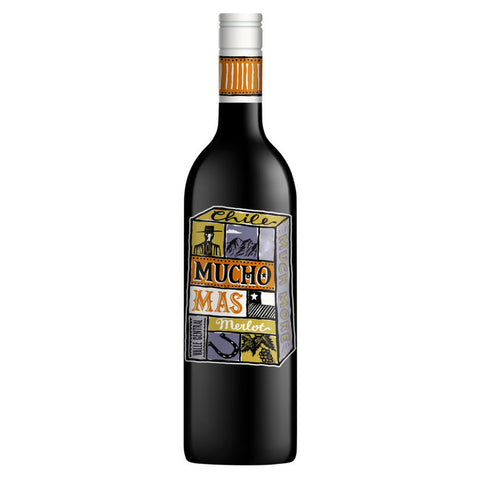 Mucho Mas Merlot (6 BOTTLE CASE)