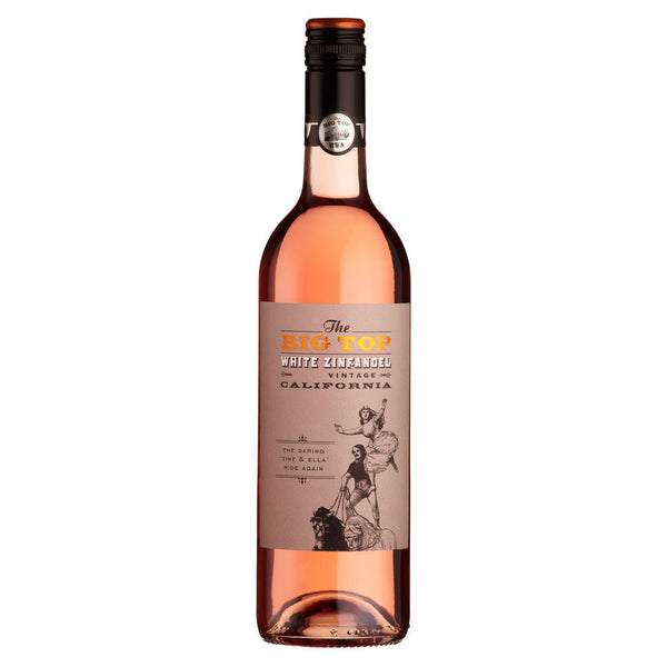 The Big Top White Zinfandel Rose (6 Bottle Case)