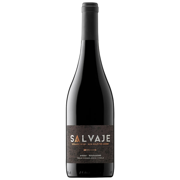 Salvaje Syrah Natural Wine (6 Bottle Case)