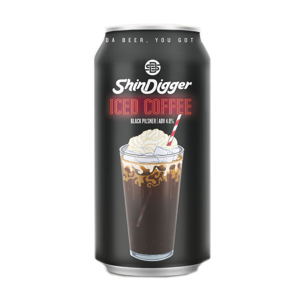 Shindigger Iced Coffee Black Pilsner