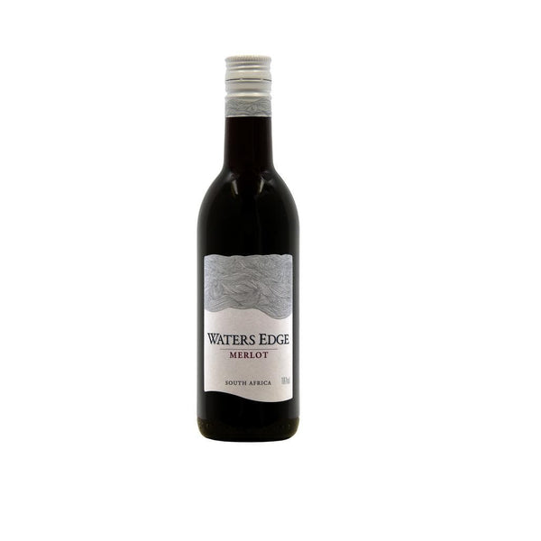 WATERS EDGE MERLOT SINGLE SERVE 187ML