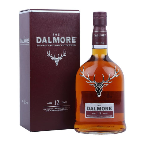 The Dalmore 12 year old Highland Single Malt Scotch Whisky