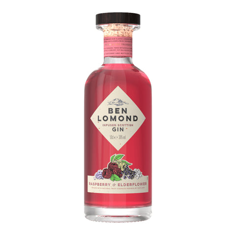 Ben Lomond Raspberry and Elderflower Gin