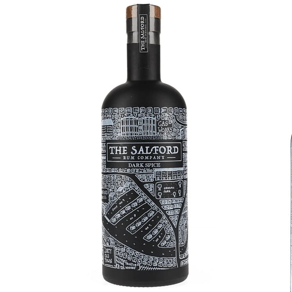 Salford Dark Spiced Rum 70cl Bottle