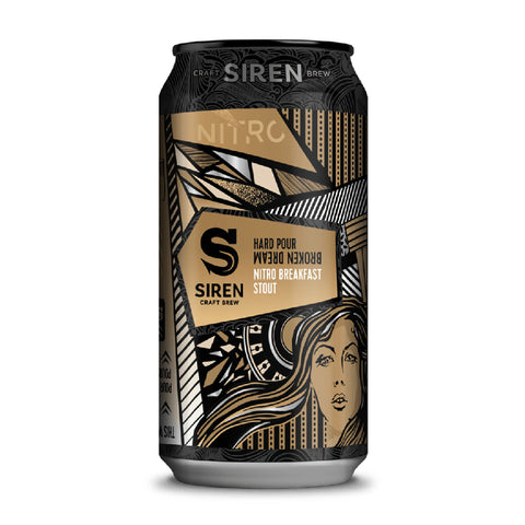 Siren Hard Pour Broken Dream Nitro Breakfast Stout