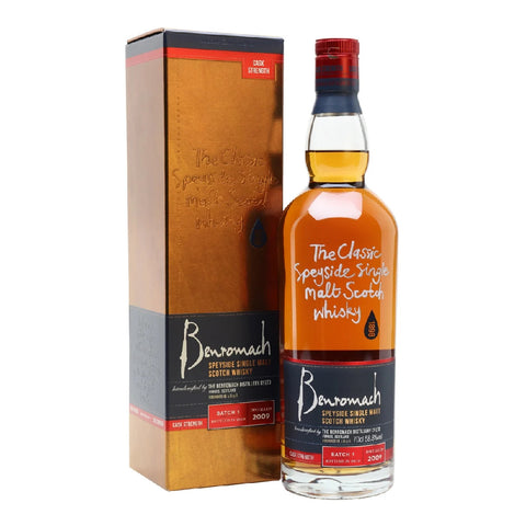 Benromach Speyside Single Malt Scotch Whisky 2009