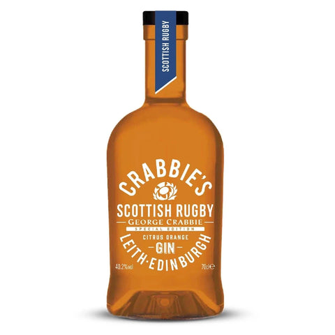 Crabbies Scottish Rugby Citrus Orange Gin