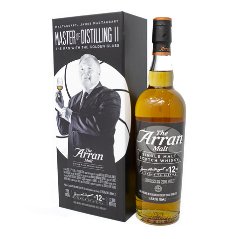 The Arran Malt James MacTaggart Master of Distilling 12th Anniversary Edition