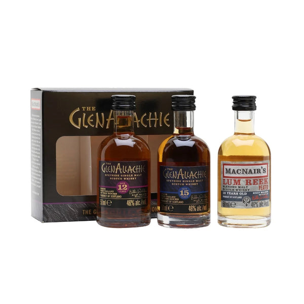 GlenAllachie Mini Trio Selection