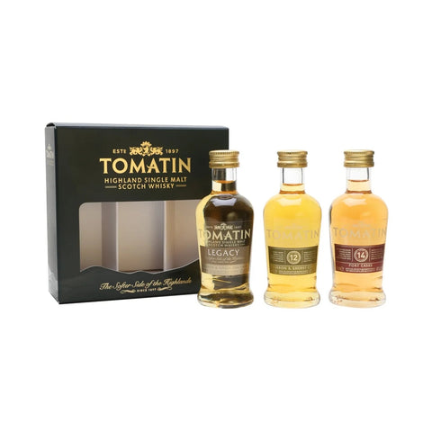 Tomatin Mini Trio Selection