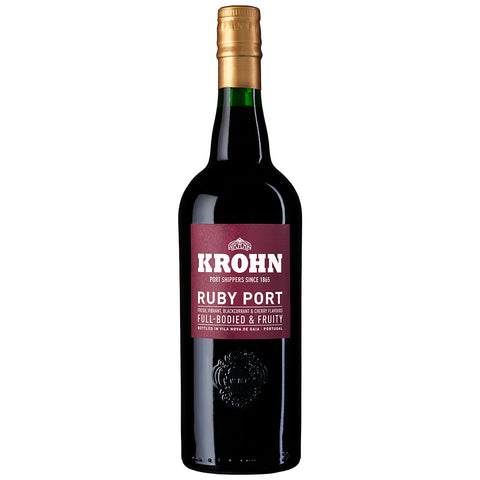 Krohn Ruby (previously Ambassador) NV (6 Bottle Case)