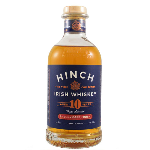 Hinch Whiskey 10 Year Old Blended Sherry Cask Finish