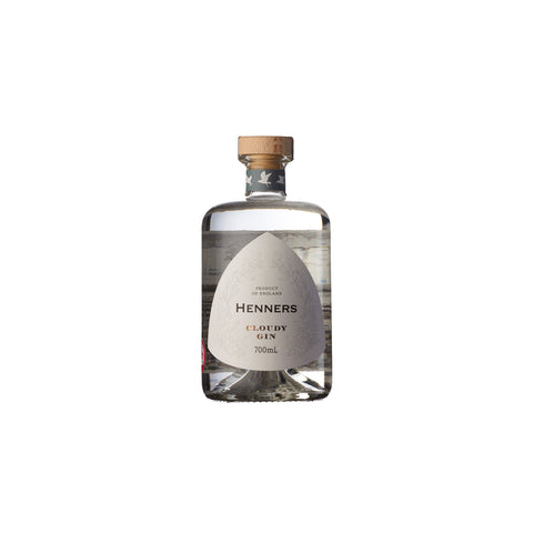 Henners Cloudy Gin NV (70cl)  (6 Bottle Case)
